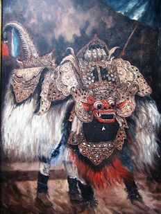 Unknown (20th century) - Barong dance Bali