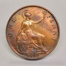 United Kingdom - Penny 1899 Victoria