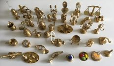 The Victoria collection-collection of solid brass miniatures