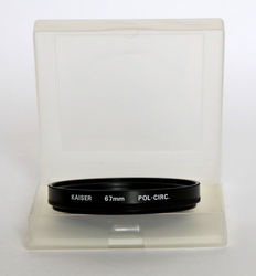 Kaizer circular polarizer filter 67 mm