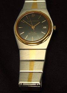 Girard-Perregaux Quartz Chronometer (Laureato) unisex No. 8924 steel/gold