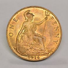 United Kingdom - Penny 1916 George V