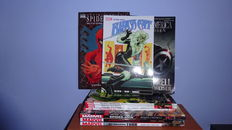 Marvel TPBs - Hulk, Thor, Spider-Man, Avengers - 4x hc with dust jacket + 6x sc - first printing - (2008 / 2017)