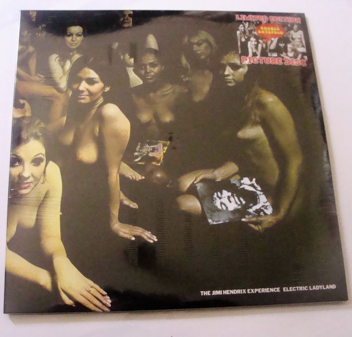 The Jimi Hendrix Experience - Limited Edition Picture Disc Electric Ladyland - Track Records 613008/613009