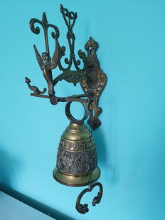 Very large copper monastery bell - France