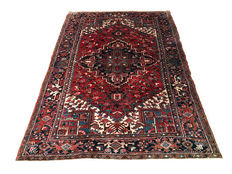 Magnificent Persian rug  Antique Heriz 270 x 180 cm - Iran - c. 1940