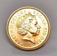 United Kingdom - Sovereign 2001 Elizabeth II - gold