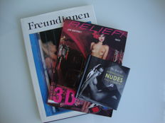 Photography; Lot with 3 publications on nude photography-1988/2012