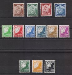Germany – Reich – Michel no. 565/568 and airmail series no. 529x/537x