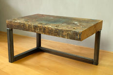Kris Deville - industrial design coffee table, side table.