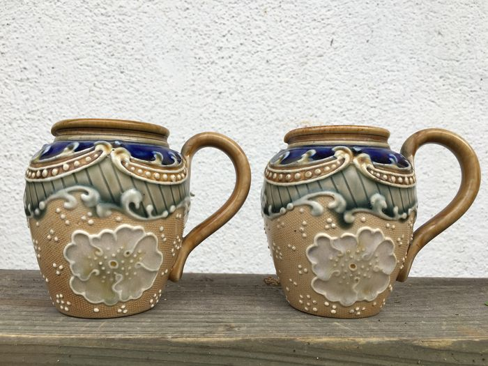 Royal Doulton - 2 Antique jugs