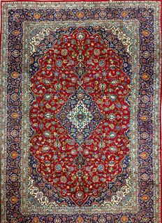 Persian carpet, fine Keshan, 356 x 243 cm