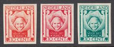 The Netherlands 1924 - children's stamps - proofs 206a/b/c
