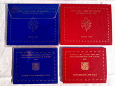 Vatican - cases from 2007 and 2008 - €2 2007 and 2008 (four cases)