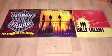 Alternative Rock Lot 3 Albums; Soundgarden - Down On The Upside + Billy Talent - Same + Urban Dance Squad - The Singles Collection 2LP