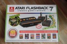 Atari Flashback classic game console incl 7 2 wireless built-in 101 games