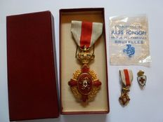 Red Cross 1st class, model 1880-1945