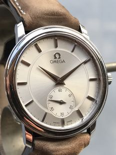 Omega De Ville, ref.: 125.0050. Barely worn. Men's wristwatch - around 2005.