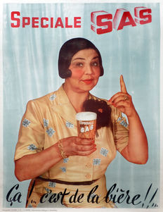 Anonymous - Special SAS beer - ca. 1945-1955
