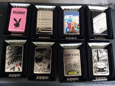 Zippo 8 different lighters type Planeta