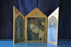 Icon triptych