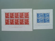 The Netherlands 1852/1942 - Composition stamps and blocks