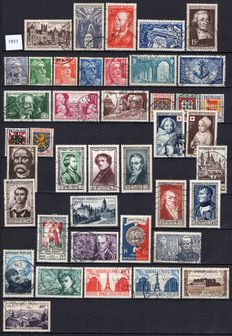 France- 1951/1958, 8 complete years