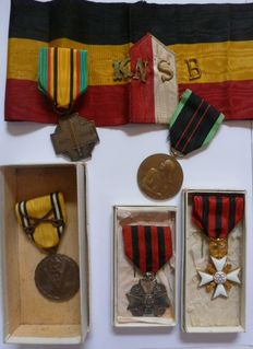 Lot of Belgian soldier from WW2.