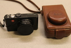 Leica D-Lux 3 - 10.4 MP - Zoom 28~112 and original Leica leather Case