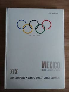 Olympic Games 1968 / Mexico / General C.F. Pahud de Mortanges/Member IOC - Bid book Olympic Games Mexico 1968-1963