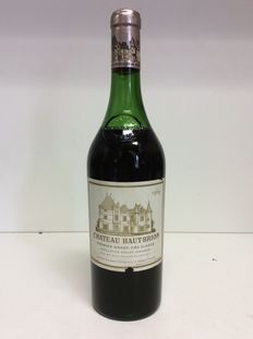 1969 Chateau Haut-Brion Premier Grand Cru Classe , Pessac-Leognan, France , 1 bottle 0,75l