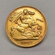United Kingdom - ½ Sovereign 1903 Edward VII - gold