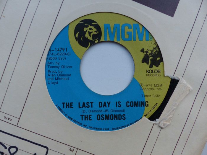 osmond singles Television appearances episodic: lucy and donny osmond, here's lucy, cbs , 1972 beat–club, 1972 married singles, the love boat, abc, 1977.