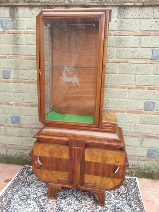 Art Deco Display Cabinet - Probably German or Austrian, 1930s