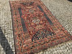 Persian Shiraz Hand knotted 270x160 cm with certifikate