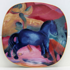 Rosenthal -  Franz Marc - Die Tiere des Franz Marc - Six limited and numbered plates with certificate