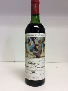 1973 Chateau Mouton Rothschild 1er GCC, Pauillac – 1 bottle (0.73L)