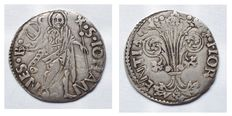 Republic of Florence – 1189-1533 Large guelfo coin, 1483. First half year – silver