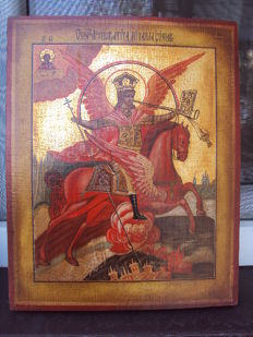 Icon of saint Michal
