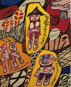Jean Dubuffet - Partitions Puzzle