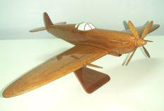 SPITFIRE model war plane wood, 32cm
