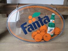 Rare advertising sign for Fanta - ca. 1950s