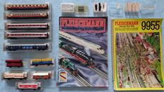 Fleischmann N - 9955/9426/9530/9540 - 11 wagons and a track layout design catalogue