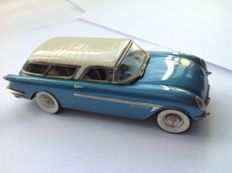 The Great American Dream machine - Scale 1/43 - Corvette Nomad 1954 - colour: metallic blue, white roof