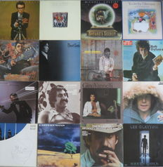 Lot of 16 Strong Albums From All Kind Of Great Singer-Songwriters