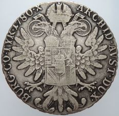 Colony of Eritrea – Conventionsthaler, 1935, Rome Mint – silver