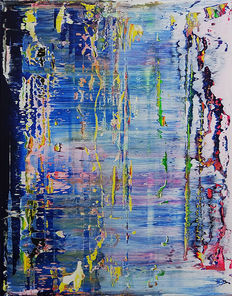M.Weiss - Abstract Painting N.437