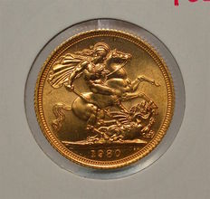 United Kingdom - Sovereign 1980 Elizabeth II - gold
