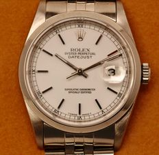 ROLEX OYSTER PERPETUAL DATEJUST 1995 - Guaranteed