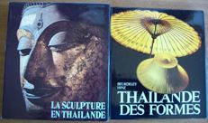 Lot with 6 books (in French) on the Buddhist culture of Southeast Asia - 1948/1979